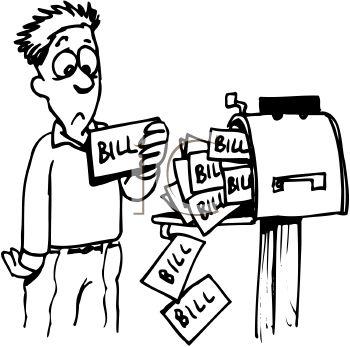 Pay bills clipart clip freeuse download 72+ Bills Clipart | ClipartLook clip freeuse download