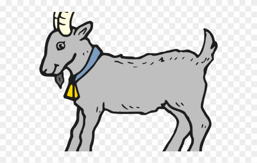 Clipart billy goat banner black and white stock Billy Goat Clipart Ram Goat - Colouring Images Of Goat - Png ... banner black and white stock