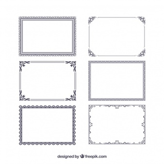 Free frame vector clipart. Vectors photos and psd