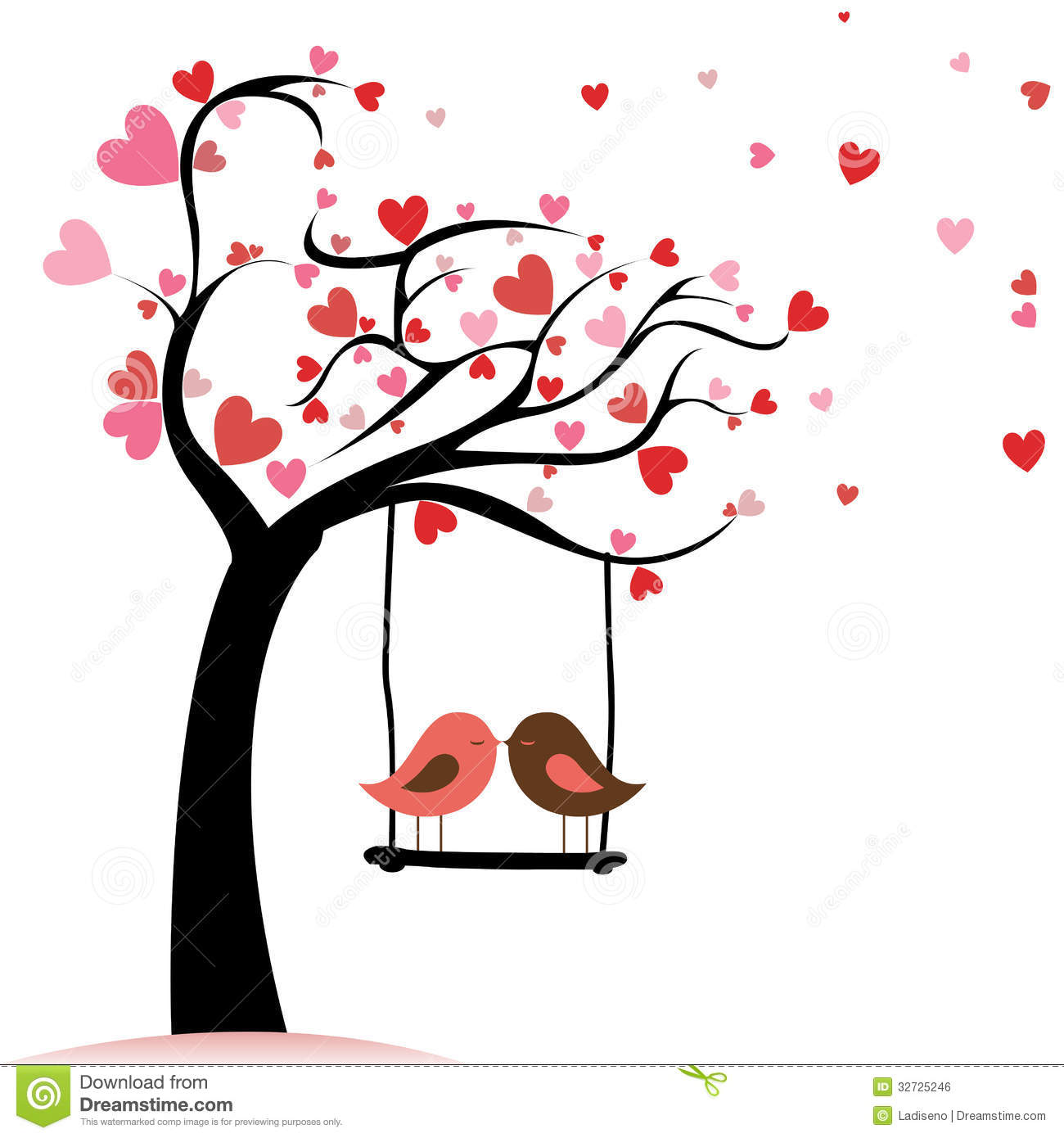 Clipart birds tree svg clip art free Love Tree Clipart - Clipart Kid clip art free