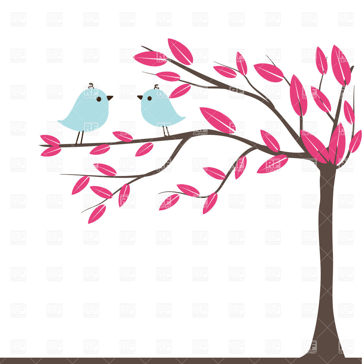 Clipart birds tree svg picture free stock Clipart birds tree svg - ClipartFox picture free stock