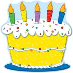 Clipart birthday cake pictures