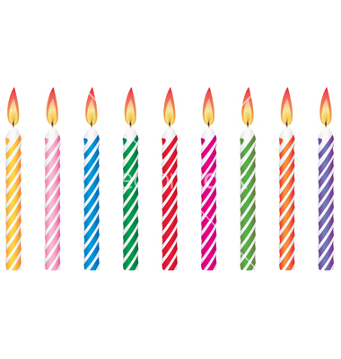 Clipart birthday candle