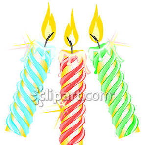 Clipart birthday candle picture transparent Happy birthday candles clipart - ClipartFest picture transparent