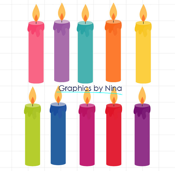 Clipart birthday candle banner Birthday candles clipart - ClipartFest banner
