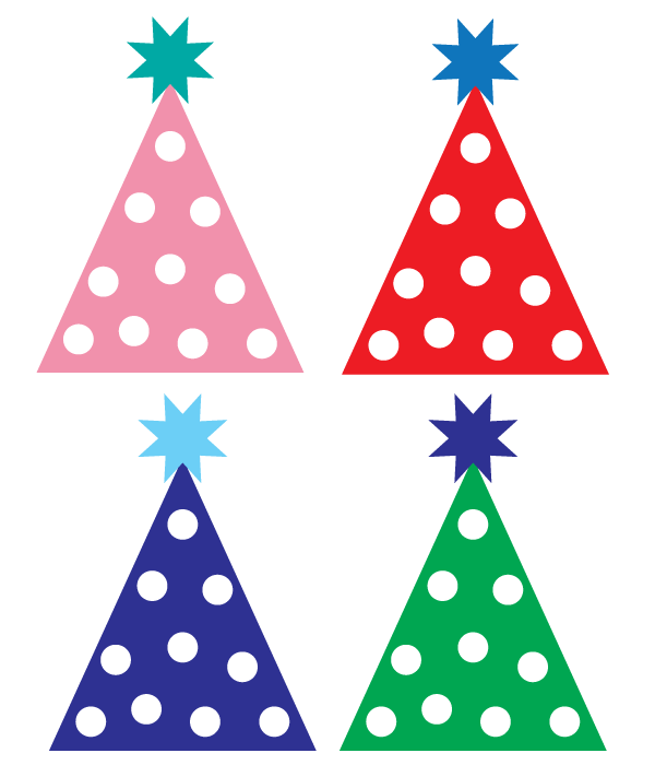 Clipart birthday hat banner stock Free party hat clipart | Designs | Birthday clipart, Happy birthday ... banner stock