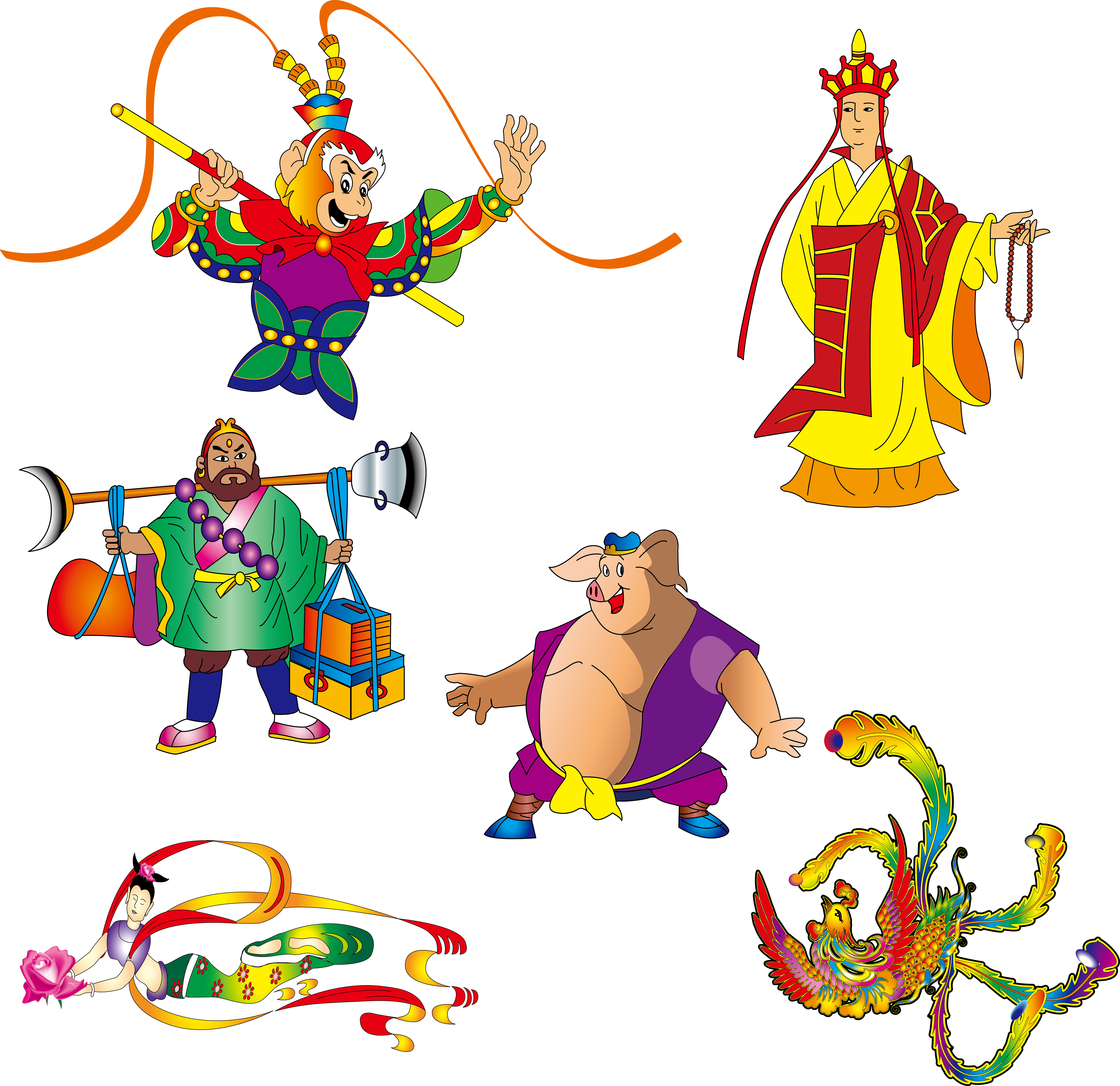 Clipart birthday with sun and sand png library Monkey: Journey to the West Sun Wukong Westward Journey Online II ... png library