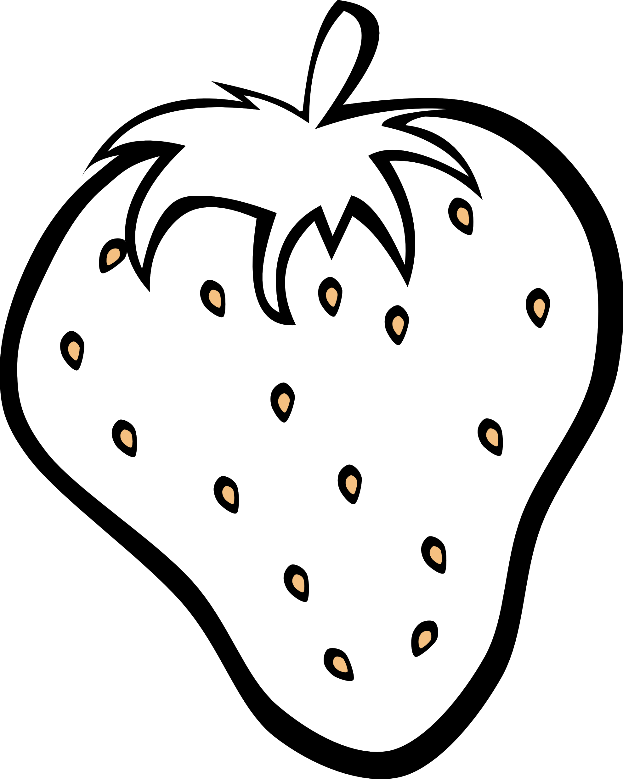 Clipart black and white clipart free library Black And White Fruit Clipart | Clipart Panda - Free Clipart Images clipart free library