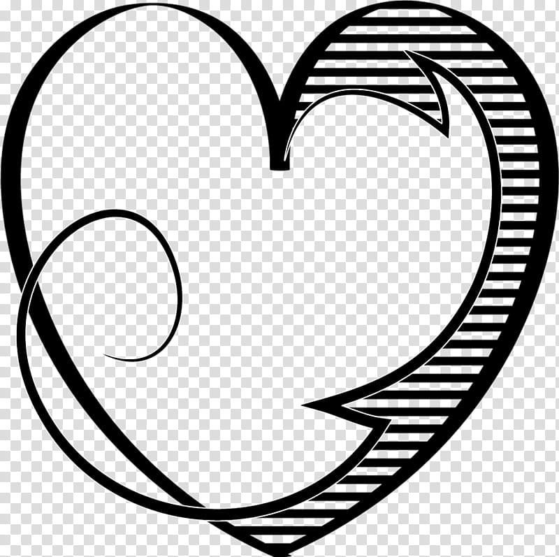Clipart black and white animals forming hearts vector free Hearts, black heart art transparent background PNG clipart | HiClipart vector free