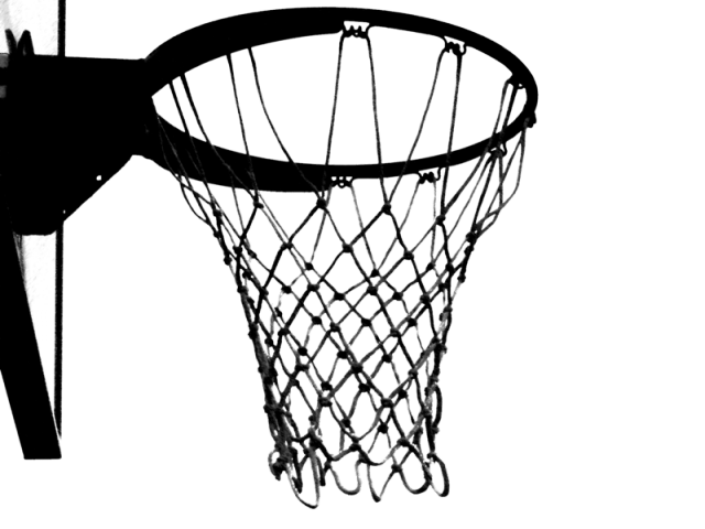 Clipart black and white basketball in net jpg freeuse Basketball Board Cliparts 10 - 800 X 800   carwad.net jpg freeuse
