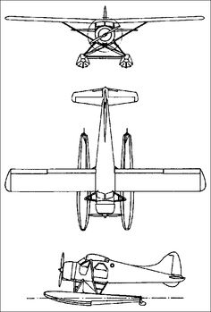 Clipart black and white beaver floatplane picture freeuse stock 43 Best Seaplane images in 2016   Float plane, Plane, Sea plane picture freeuse stock