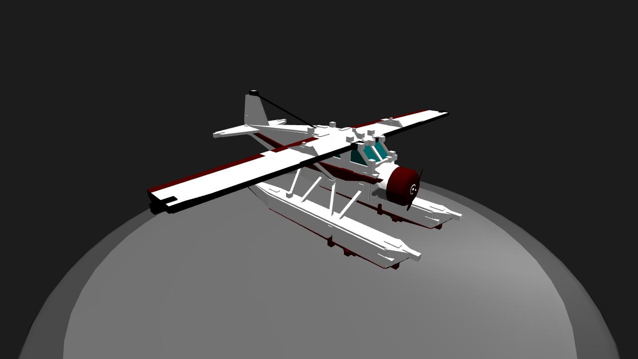 Clipart black and white beaver floatplane jpg transparent SimplePlanes   DHC2 beaver mini float plane jpg transparent