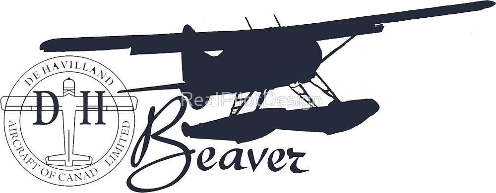 Clipart black and white beaver floatplane clip art library stock DeHavilland DH-2 Beaver Floatplane\