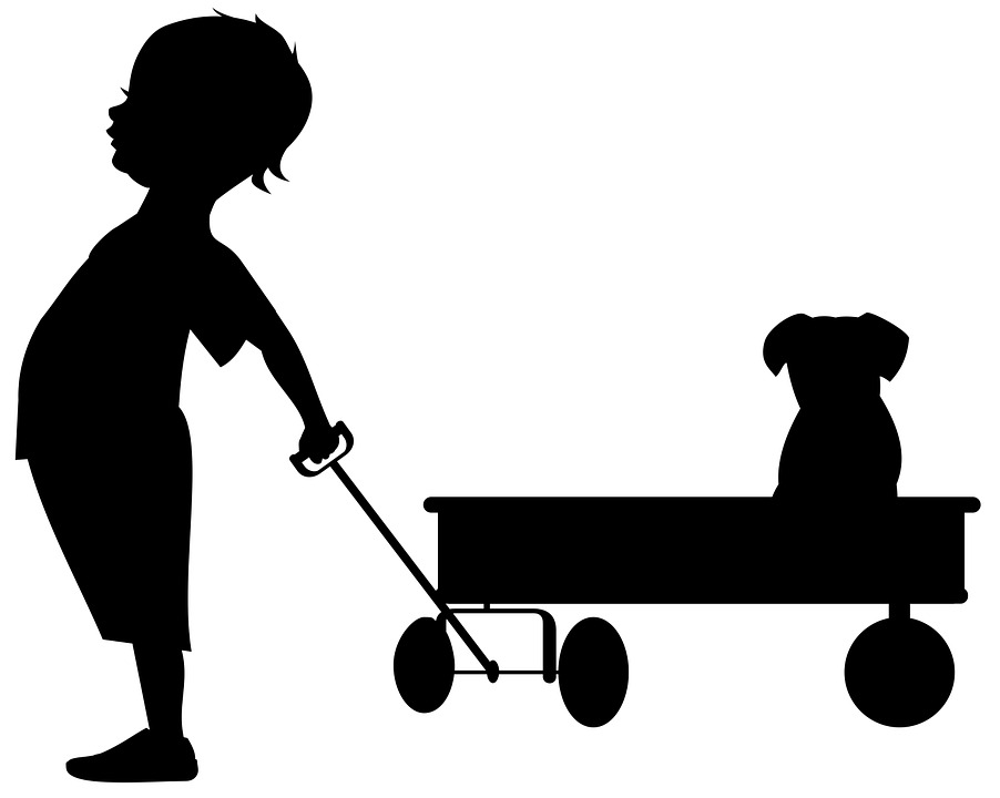 Clipart black and white boy pulling a wagon image royalty free Boy Pulling Wagon With Nothing In It Png & Free Boy Pulling Wagon ... image royalty free