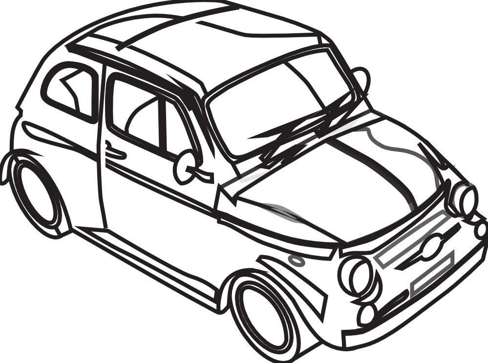 Clipart black and white car picture black and white download Car Black and white Clip art - Graphics Factory Clipart 999*744 ... picture black and white download