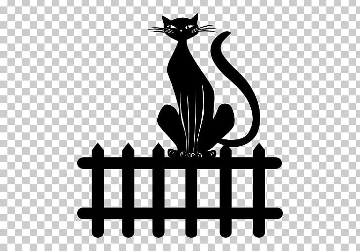Clipart black and white cat looking through fence image stock Cat Fence Computer Icons PNG, Clipart, Animals, Artwork, Black ... image stock