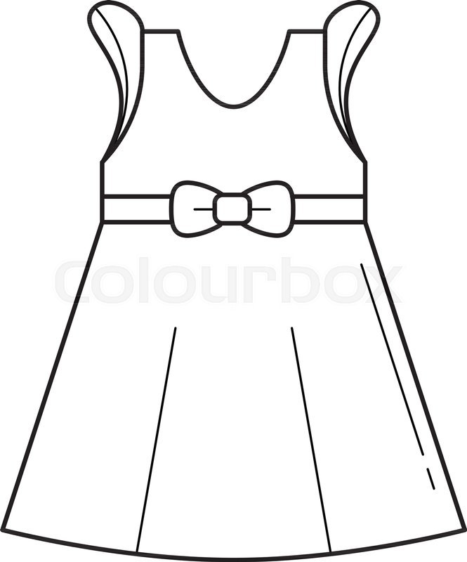 Clipart black and white dress clip royalty free download Dress Black White Clipart – black dress pants clip royalty free download