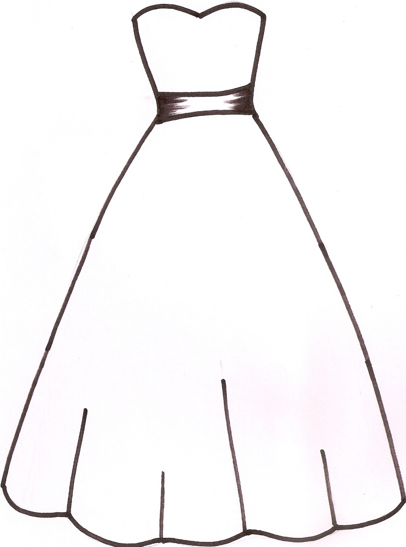 Clipart black and white dress png black and white download Free Blank Dress Cliparts, Download Free Clip Art, Free Clip Art on ... png black and white download
