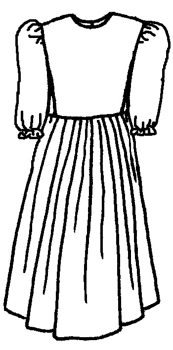 Simple black and white girls clothing clipart jpg download Free Dress Cliparts, Download Free Clip Art, Free Clip Art on ... jpg download