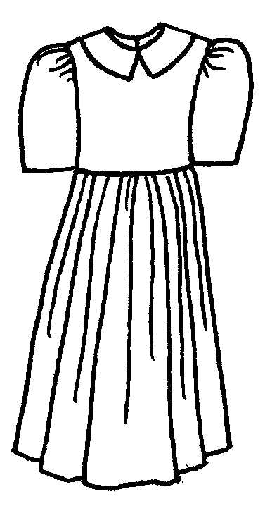 Clipart black and white dress vector transparent Dress clipart black and white 7 » Clipart Station vector transparent
