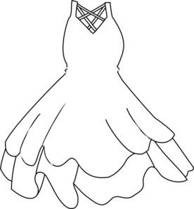 Clipart black and white dress picture free download White Dress PNG, SVG Clip art for Web - Download Clip Art, PNG Icon Arts picture free download