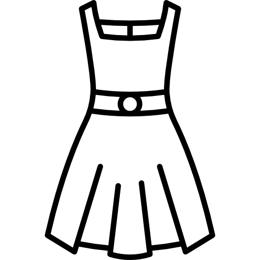 Simple black and white girls clothing clipart clip black and white stock Dress Clipart Black And White | Free download best Dress Clipart ... clip black and white stock