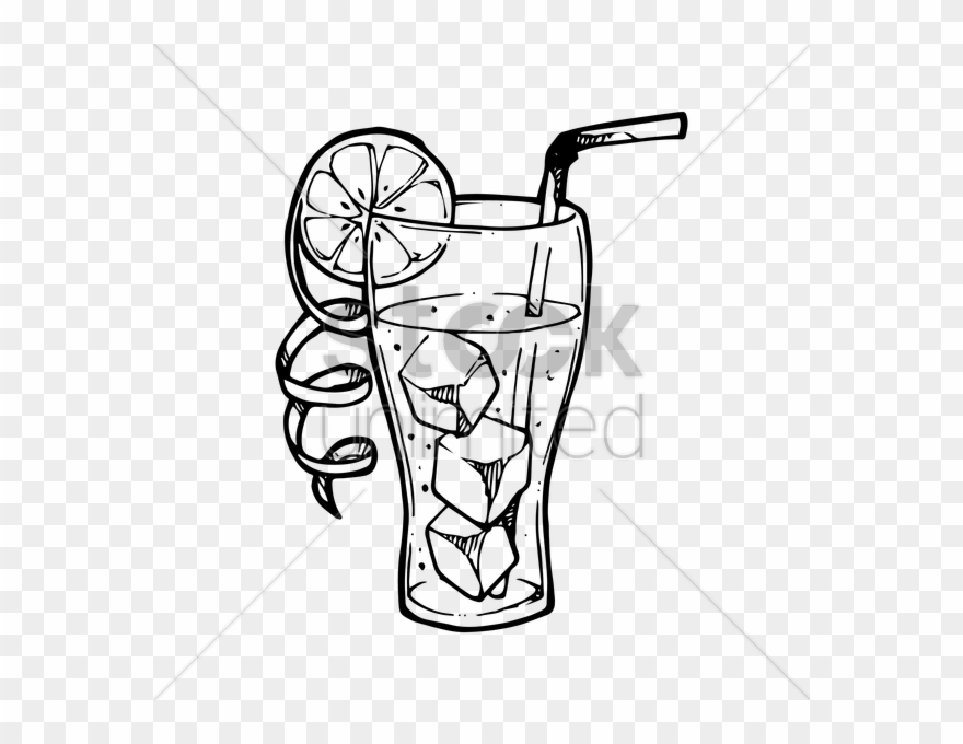 Clipart black and white drink glass png jpg download Cooldrinks Glass Clip Art Clipart Fizzy Drinks Iced - Cooldrink ... jpg download
