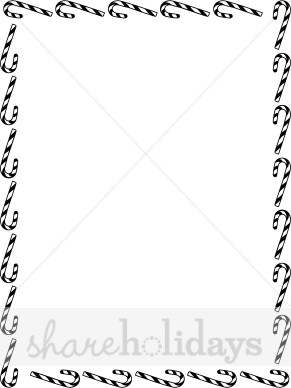 Clipart black and white fancy border christmas lights graphic library Christmas Clip Art Black And White Borders | Decorating Ideas graphic library