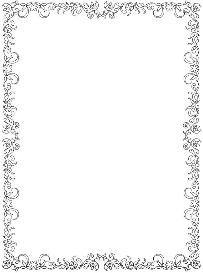 Clipart black and white fancy border christmas lights svg freeuse library Snowflake Clipart Border | Free download best Snowflake Clipart ... svg freeuse library