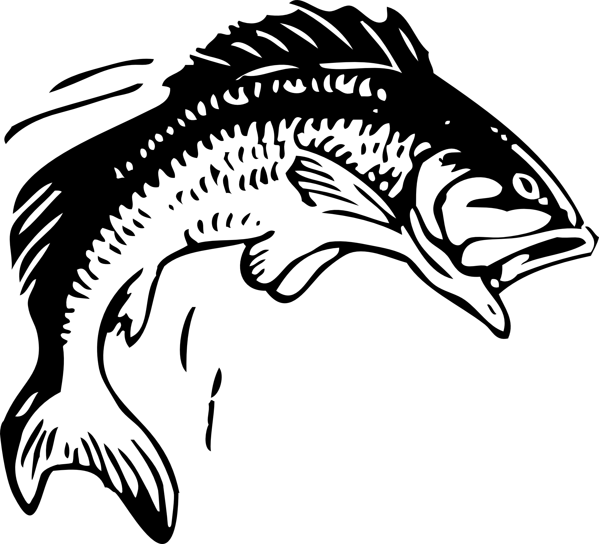 Fish fillet clipart jpg black and white 30+ Cool Dried Fish Clipart Black And jpg black and white