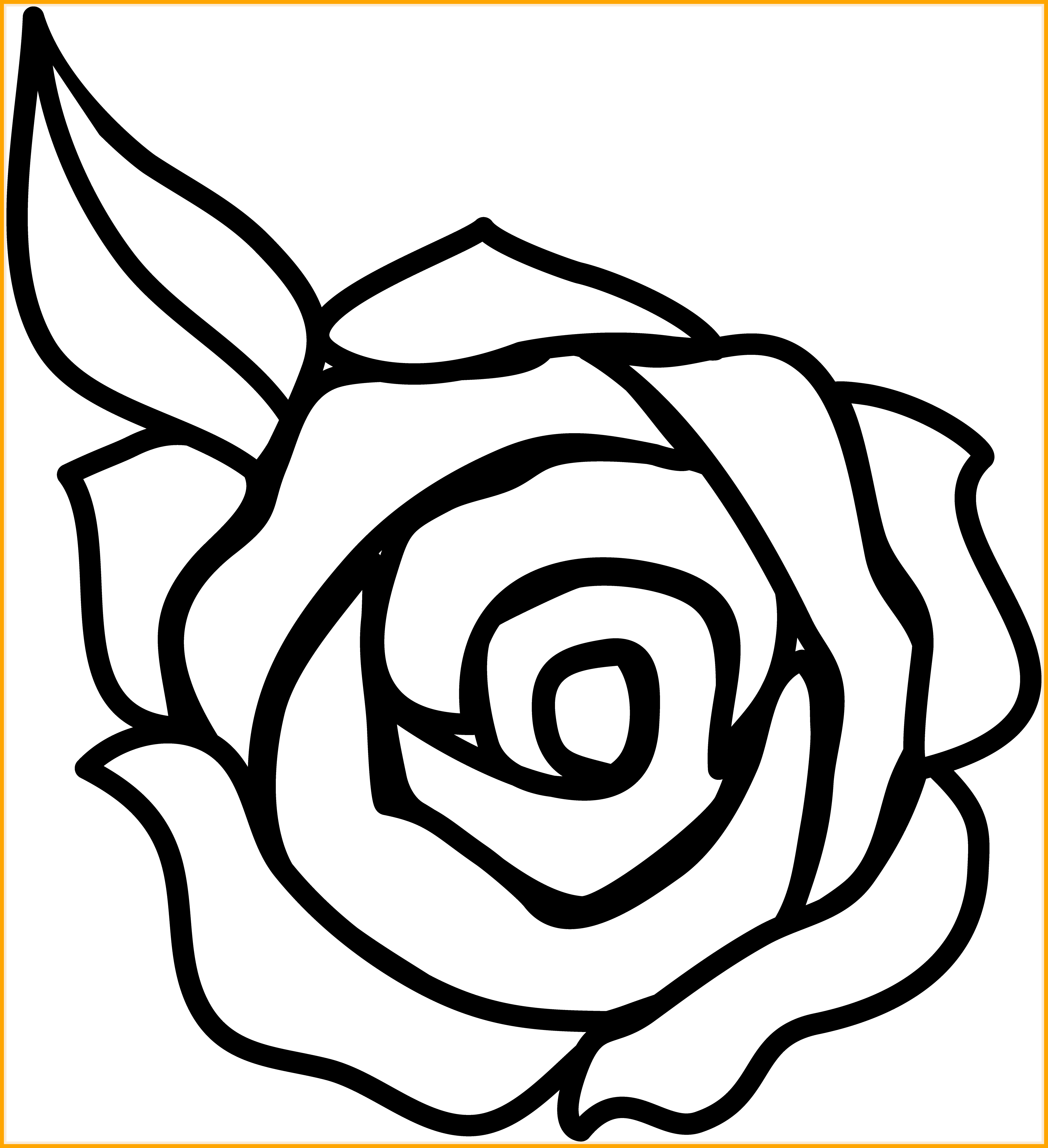 Clipart black and white flower banner Appealing Black And White Rose Border Clip Art Clipart Panda Pics ... banner