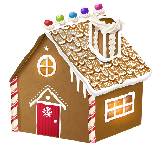 Clipart black and white gingerbread house png transparent stock Gingerbread House PNG Clipart Image | Gingerbread | Pinterest png transparent stock
