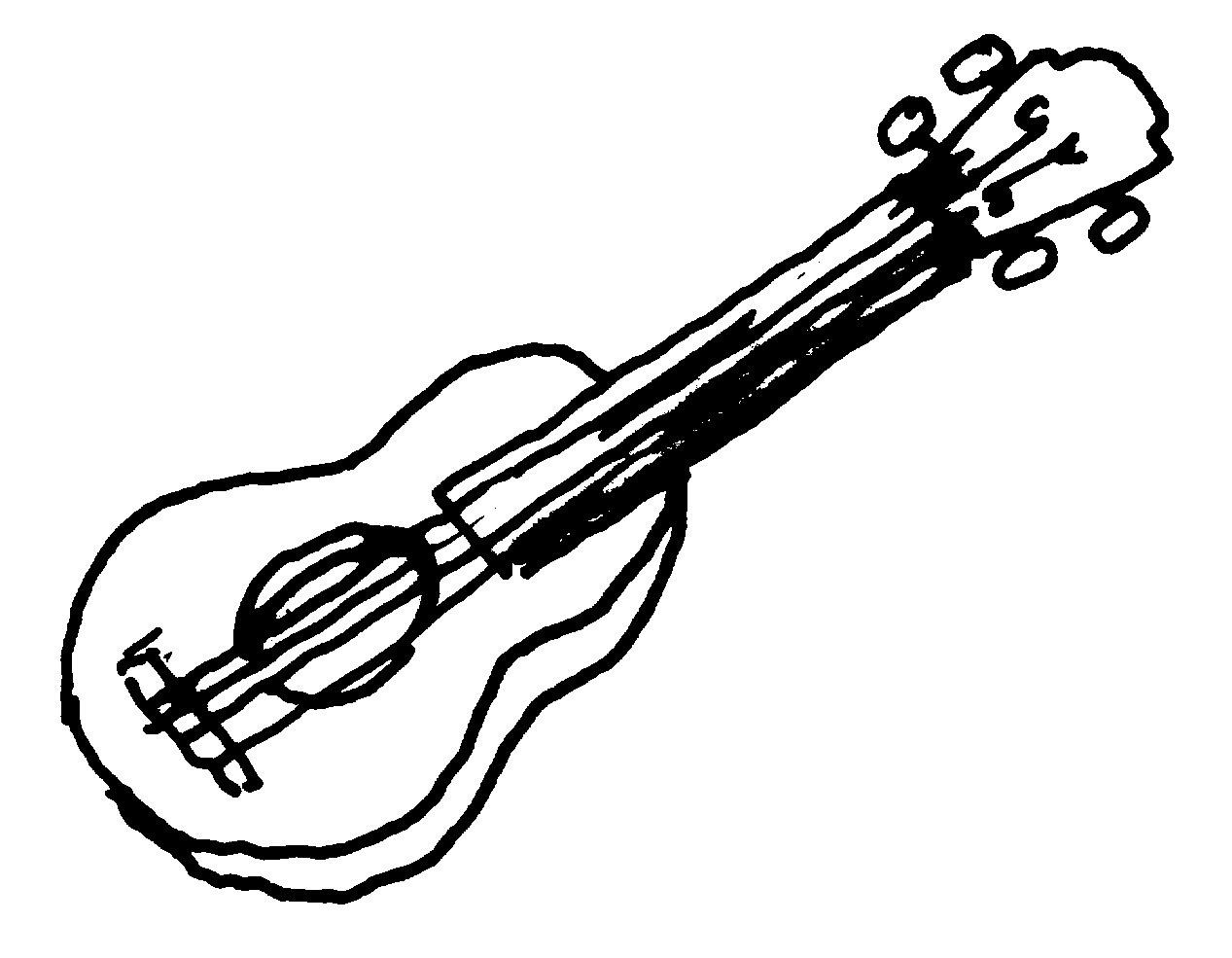 Clipart black and white guitar clip art freeuse Guitar black and white guitar clip art images - WikiClipArt clip art freeuse
