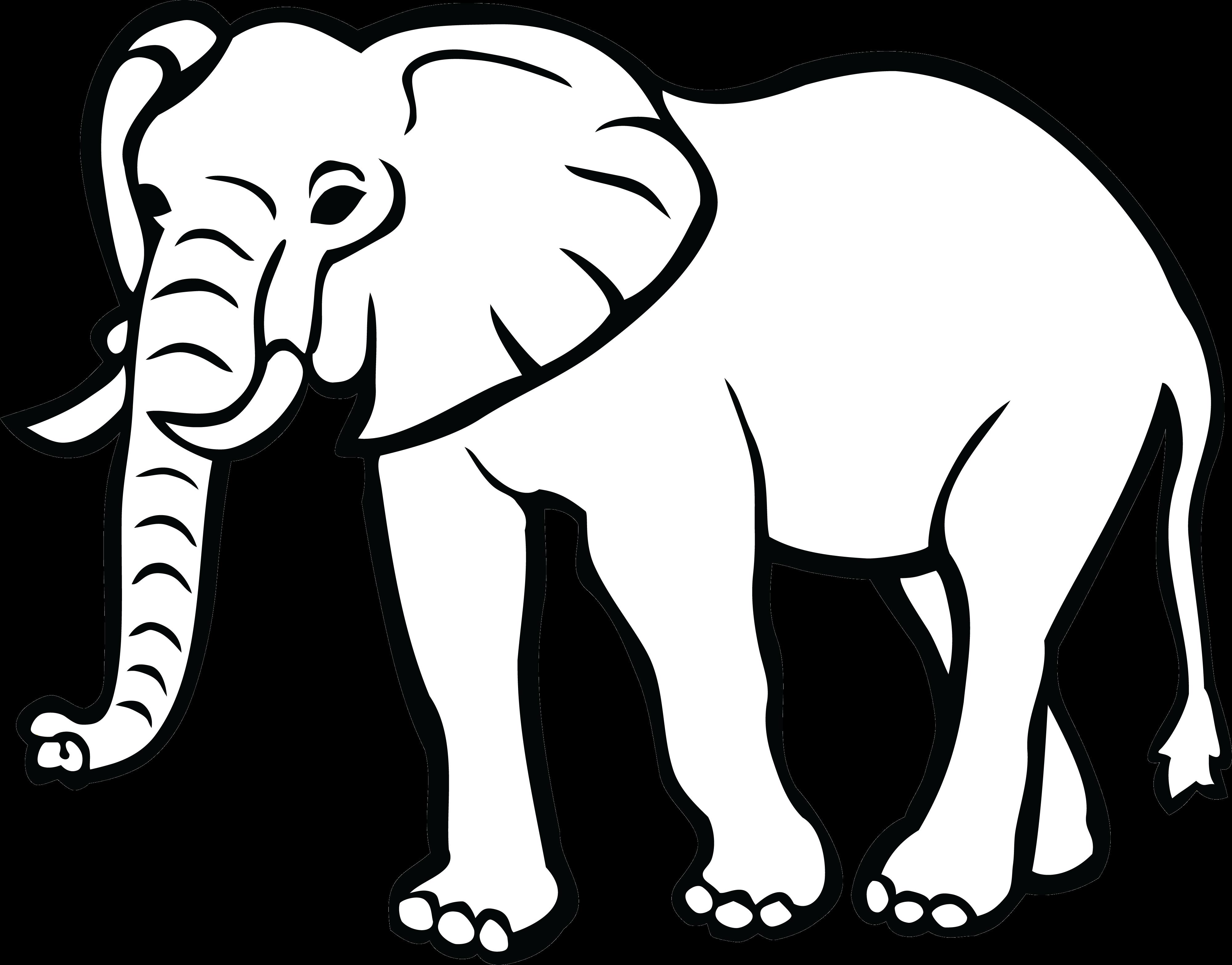Clipart black and white image of elephant clipart Elephant Elephants Clipart Black And White For Free On Mbtskoudsalg ... clipart