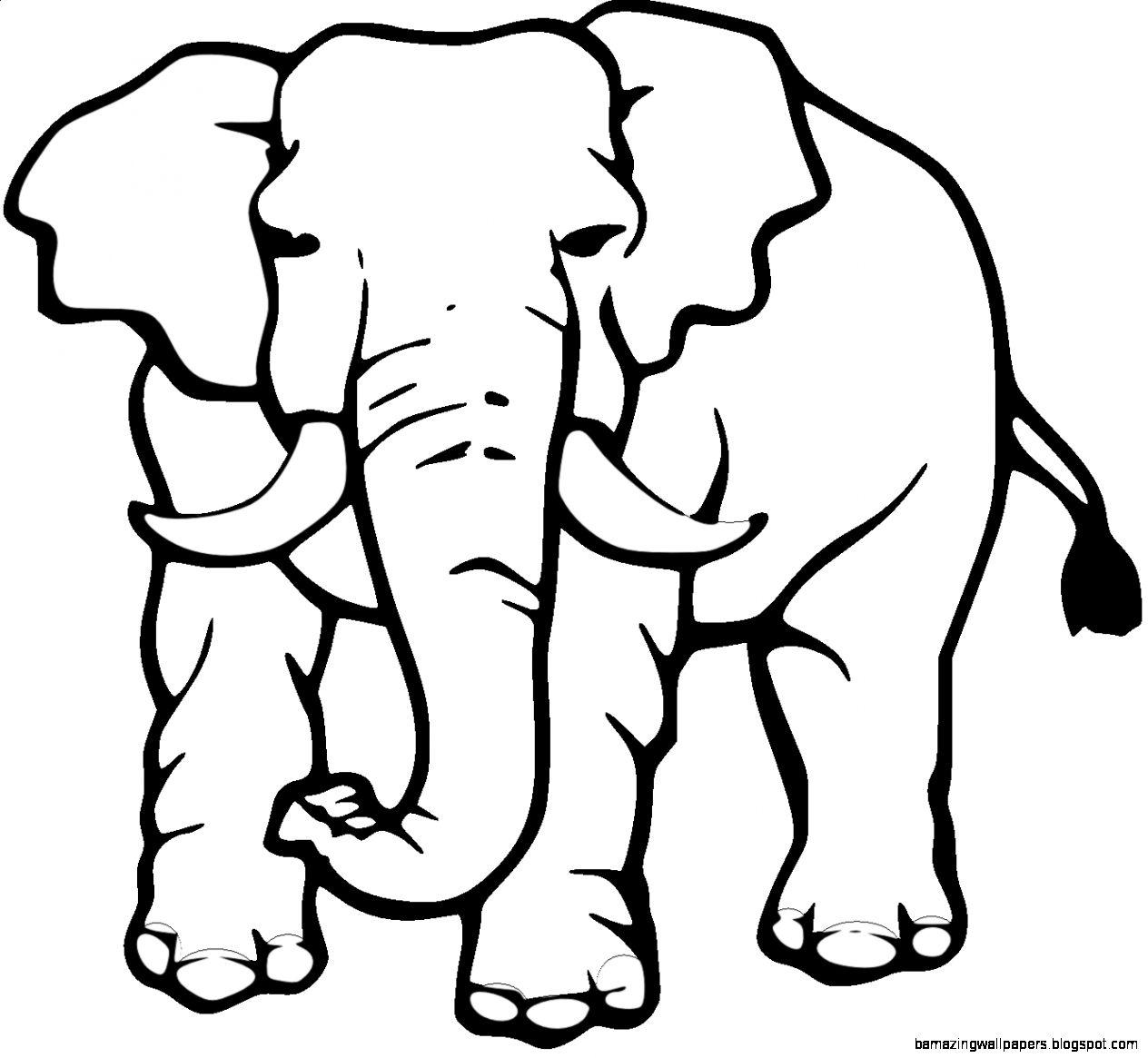 Elephant black and white clipart jpg transparent download Best Cute Elephant Clipart Black and White #28172 - Clipartion.com jpg transparent download