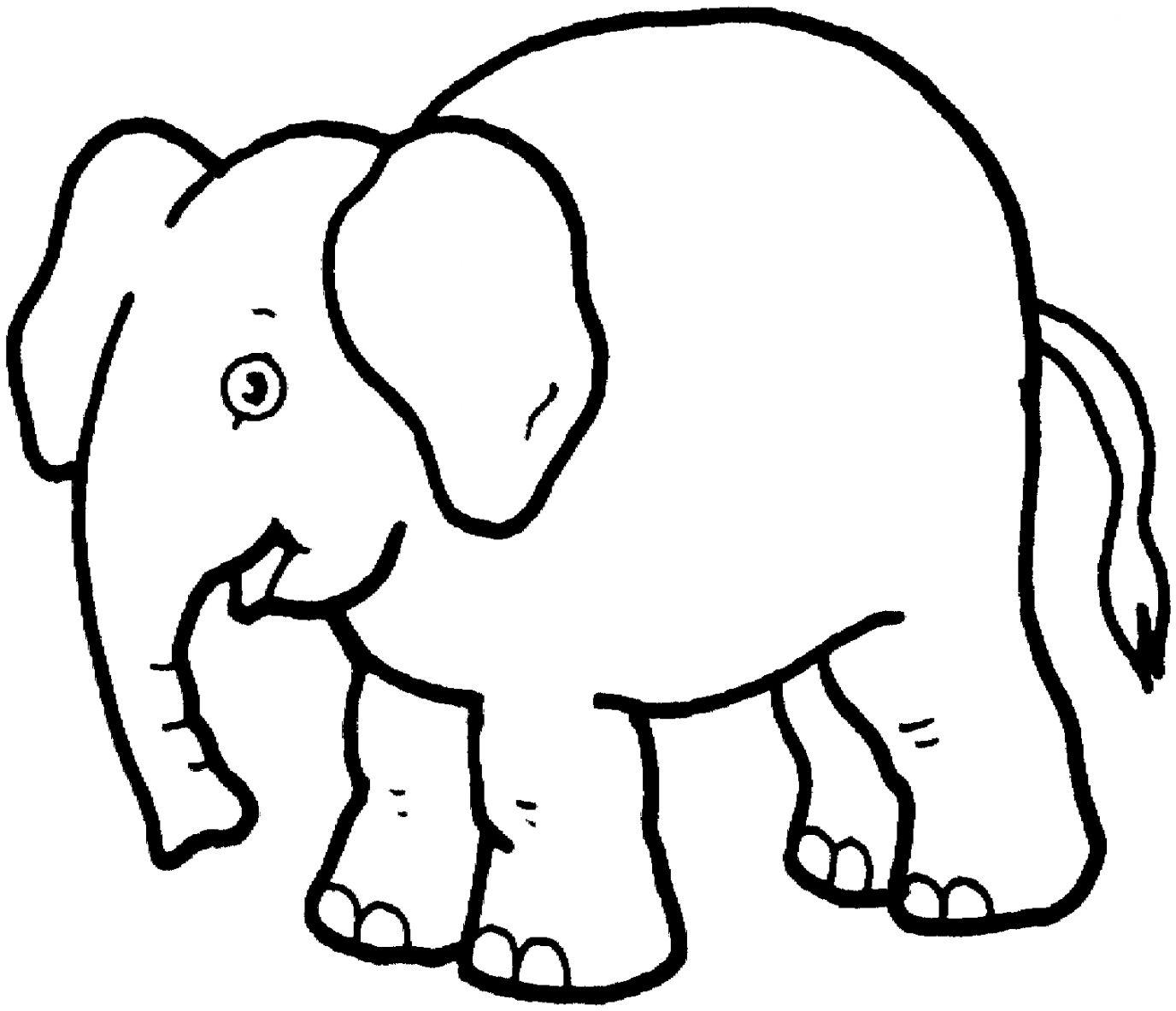 Elephant black and white clipart jpg Elephant Black And White Clipart | Wallpapers Warrior jpg
