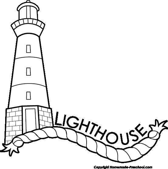 Clipart black and white lighthouse jpg transparent library Lighthouse Black And White Clipart Book 2073 - Clipart1001 - Free ... jpg transparent library