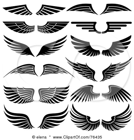 Clipart black and white logo png library download 17 Best ideas about Wings Logo on Pinterest | Logo inspiration ... png library download