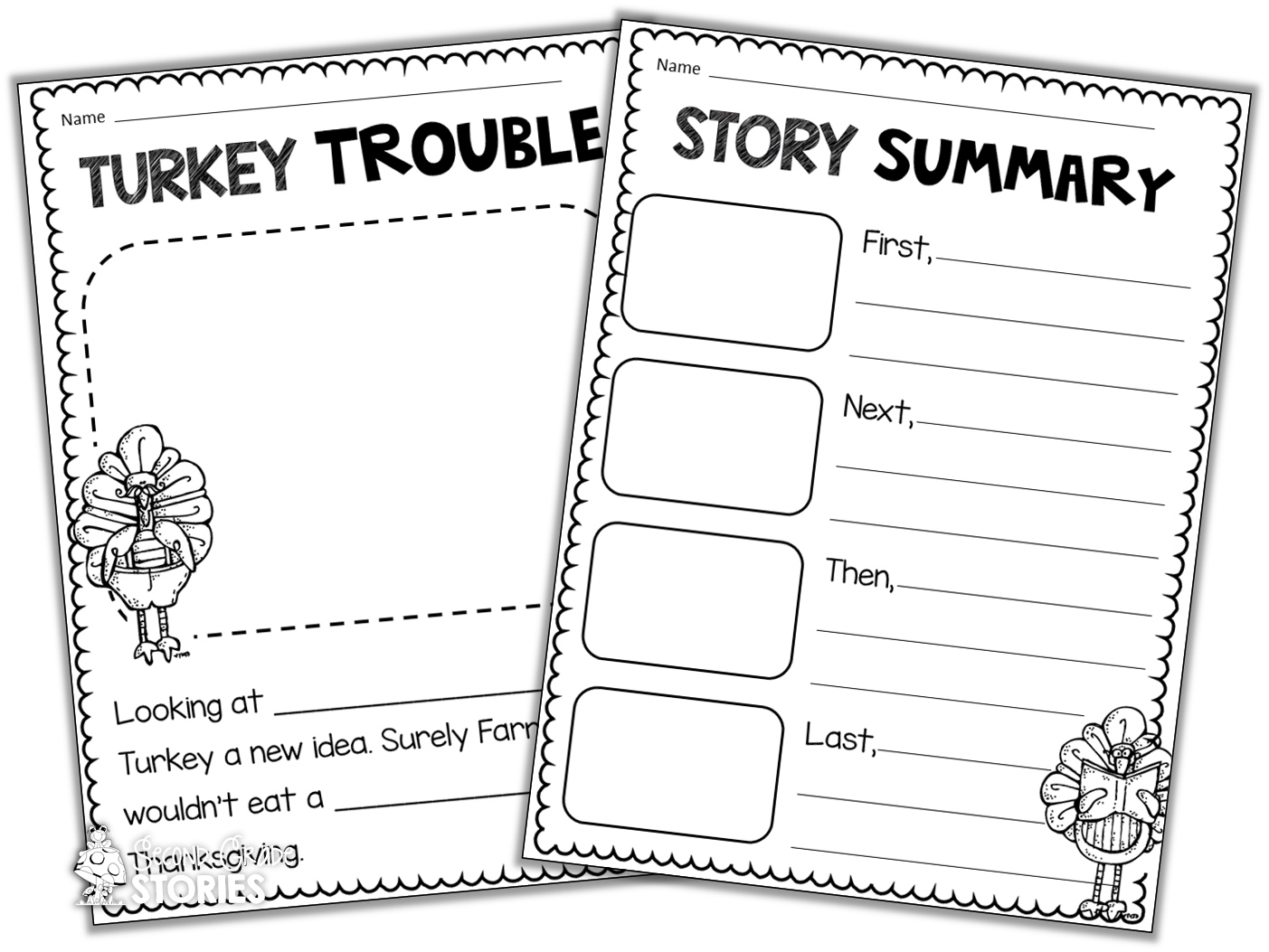 Snowflake clipart for newsletter heading vector royalty free Thanksgiving Reading Fun - Second Grade Stories vector royalty free