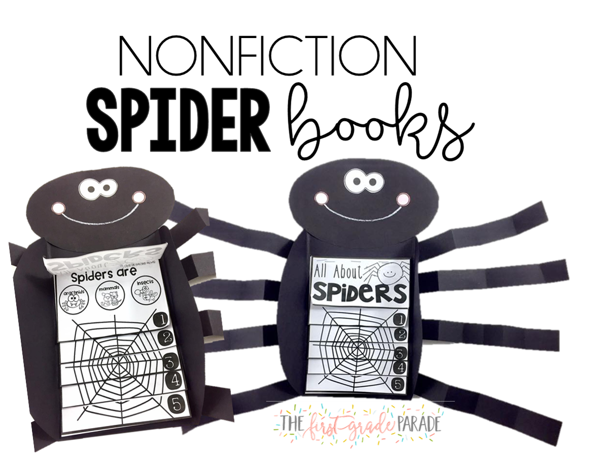 Clipart black and white nonfiction turkey book picture freeuse Spider Week - The First Grade Parade picture freeuse