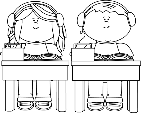 Pupils listening to their teacher coloring pages - Hellokids.com | 482x600