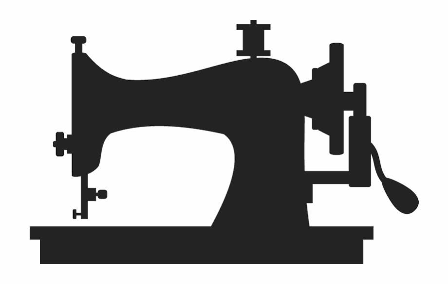 Clipart black and white old sewing machines image royalty free Old-school Sewing Machine Stamp - Sewing Machine Black And White Png ... image royalty free
