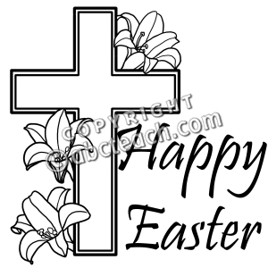 Clipart black and white palm sunday cross png freeuse stock Palm Sunday Clipart Religious   Free download best Palm Sunday ... png freeuse stock
