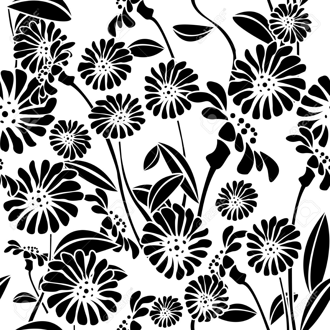 Clipart black and white patterns graphic stock Pattern clipart black and white - ClipartFest graphic stock