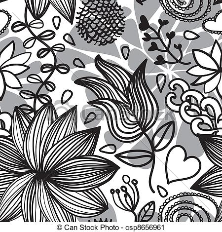Clipart black and white patterns picture black and white stock Black clipart pattern - ClipartFox picture black and white stock