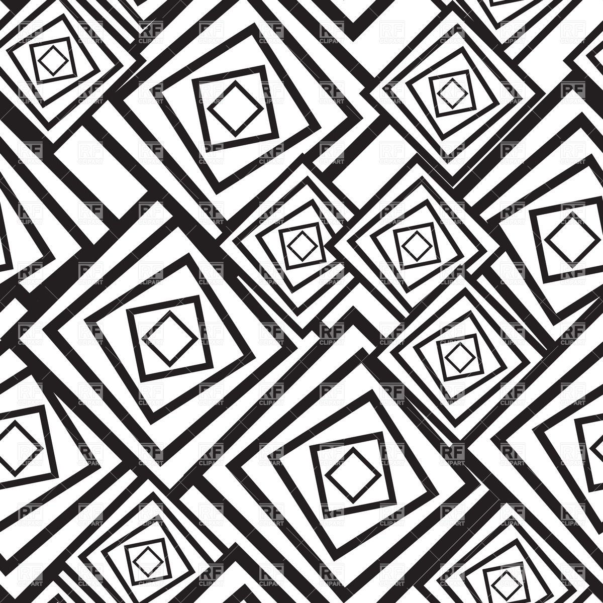 Clipart black and white patterns banner transparent library Square Black And White Quilt Clipart - Clipart Kid banner transparent library