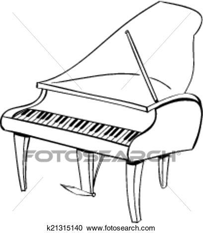 Piano black and white clipart svg download Piano clipart black and white 5 » Clipart Portal svg download