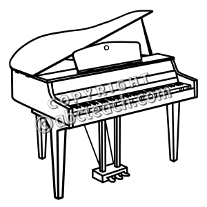 Piano black and white clipart svg download Piano Clipart Black And White | Clipart Panda - Free Clipart Images svg download