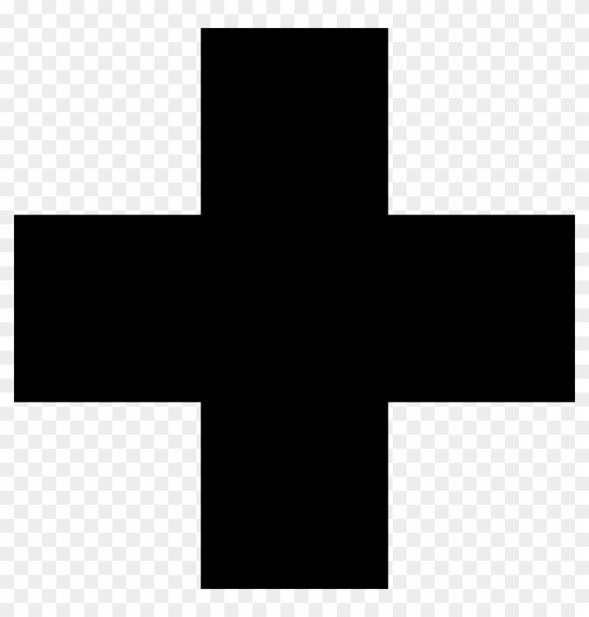 Clipart black and white red cross clip art royalty free Red Cross Clipart Black And White - Black Cross, HD Png Download ... clip art royalty free