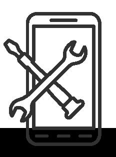 Clipart black and white screen repair jpg black and white Iphone & Android Phone Repair Chattanooga, Ooltewah and Dalton Georgia jpg black and white